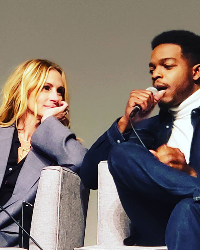 Julia Roberts & Stephan James