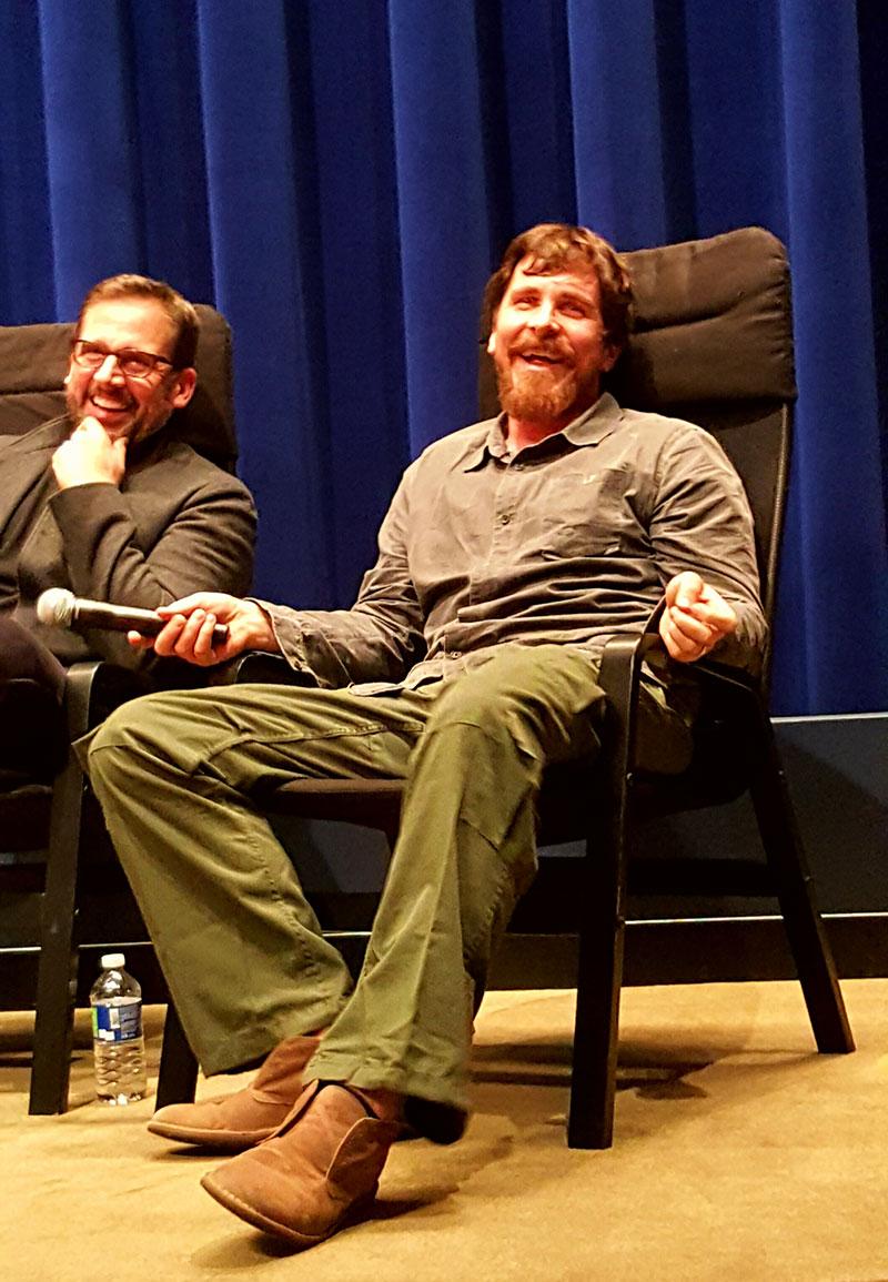 Steve Carrell & Christian Bale