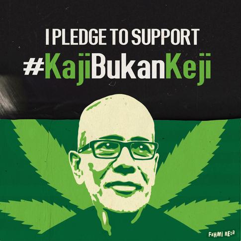 #KajiBukanKeji [A] English
