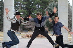 Dancin' Shoes DJ and Lighting - staff bio pic gettin stupid y'all - Vance Kevin Michael - Colorado W