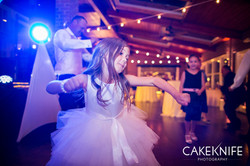 Dancin' Shoes DJ and Lighting - market lighting and blush pink uplighting - Lionsgate Event Center