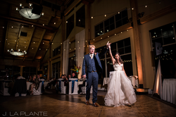 Dancin' Shoes DJ and Lighting - market lighting and amber uplighting - first dance - Copper Mountain