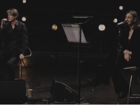 Brett Anderson & Nadine Shah perform 'Holes'