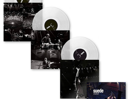Clear vinyl Royal Albert Hall - pre-order now