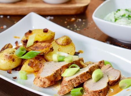 Schweinefilet & Bratkartoffeln