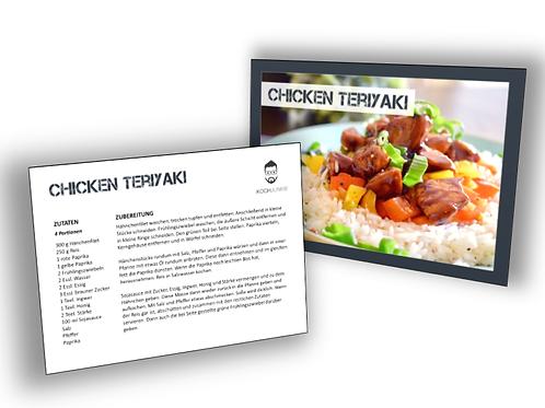 Rezeptkarte: Chicken Teriyaki