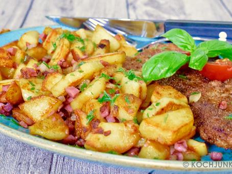 Schweineschnitzel & Bratkartoffeln