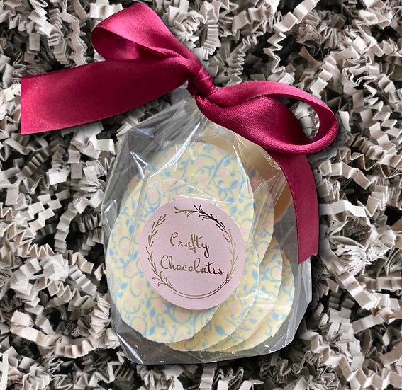 Crafty Chocolates - White Chocolate & Lemon Buttons