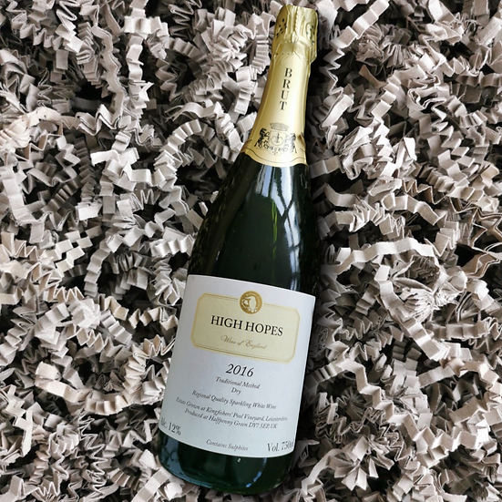 Rothley Wine High Hopes 201612% ABV 75cl (Dry White Sparkling Wine)