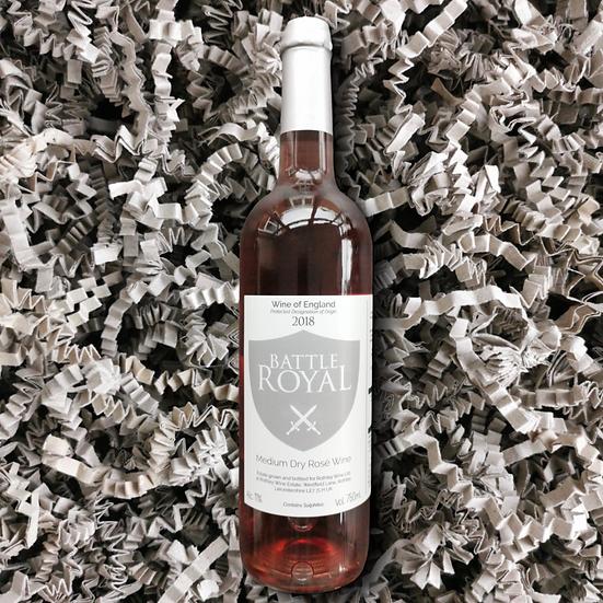 Rothley Wine Battle Royal 2018 11% ABV 75cl (Medium Dry Rosé Wine)