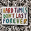 Thumbnail: Katie Abey Hard Times Postcard - Can Be Personalised