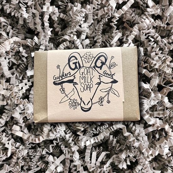 Ganders Goat Honeysuckle and Geranium Floral Scented Bar