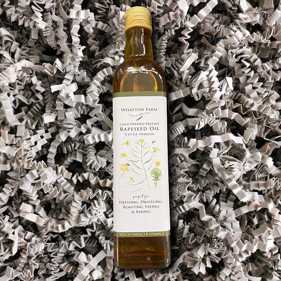 Whatton Farms Cold Pressed Rapeseed Oil 500ml