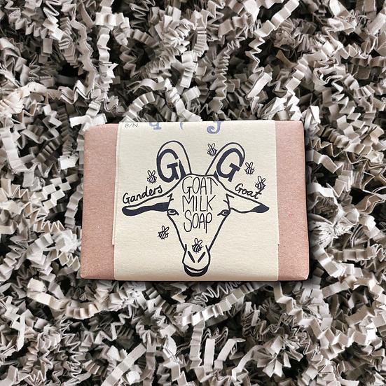 Ganders Goat Bee Happy! Honey Soap and Shampoo Bar