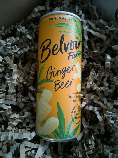 Belvoir Fruit Farm Ginger Beer Can 250ml