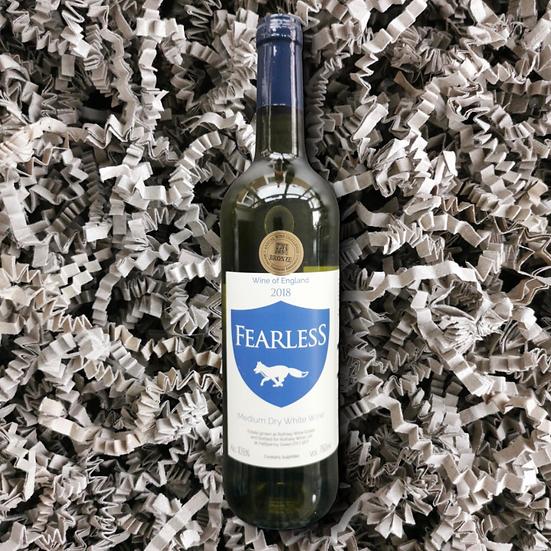 Rothley Wine Fearless 2018 10.5% ABV 75cl (Medium Dry White Wine)