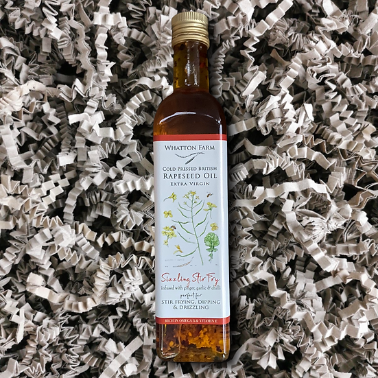 Whatton Farms Cold Pressed Rapeseed Oil - Sizzle Stir Fry 500ml