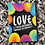 Thumbnail: Katie Abey Love Through the Darkness Postcard - Can Be Personalised