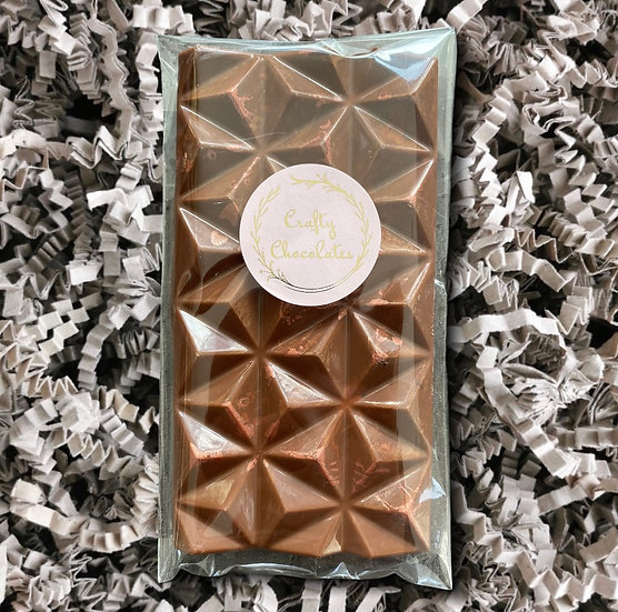 Crafty Chocolates - Milk Chocolate and Oreo Pyramid Bar