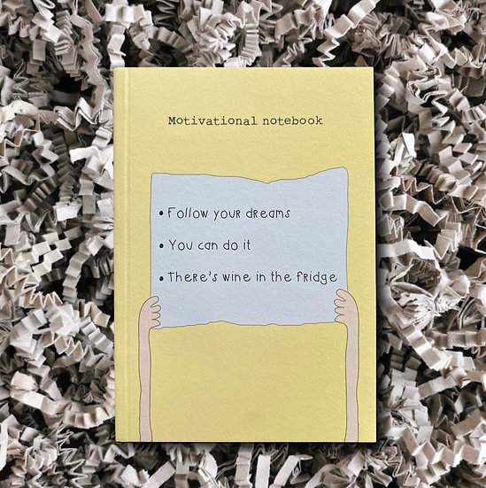 Rosie Made a Thing - Motivational Lined Notepad