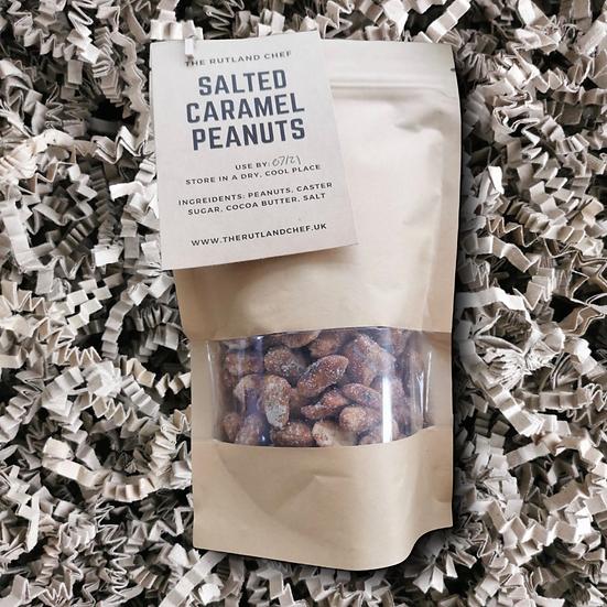 The Rutland Chef - Salted Caramel Peanuts