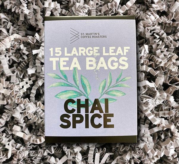 St Martin's Chai Spice Tea Bags x15