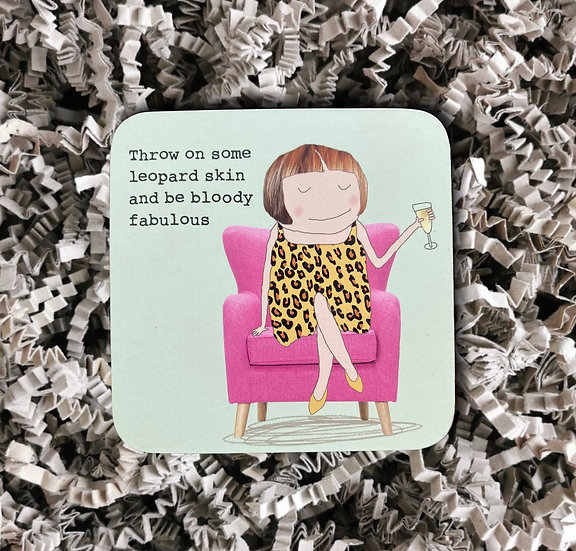 Rosie Made a Thing - Fabulous Coaster