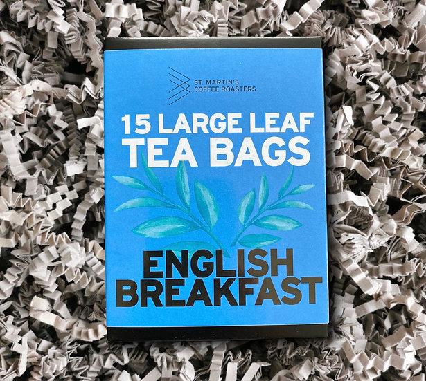 St Martin's English Breakfast Tea Bags x15
