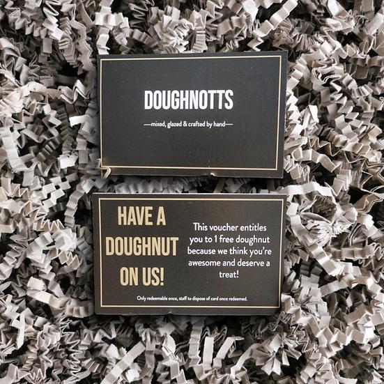 Gift voucher - DOUGHNOTTS
