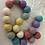 Thumbnail: CUSTOM MADE Felt Ball Pom Pom Garland - Choose Your Own Colours