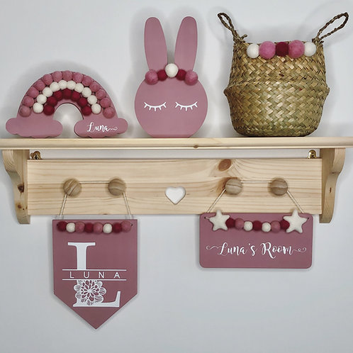 Personalised Nursery Room Gift Set