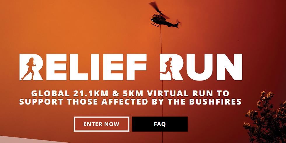 Brisbane Run Squad Community Relief Run (21.1km and 5km)