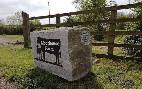 Moorhouse Farm Sign