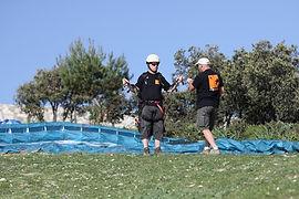 paragliding, paramotoring