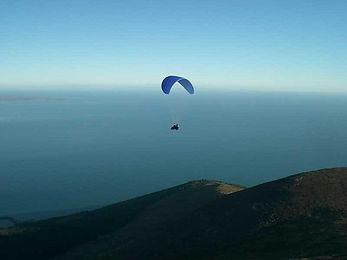 paragliding in the Mournes
