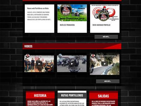 NUEVA WEB PORTILLEROS EN MOTO