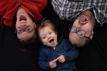 Portretten familie