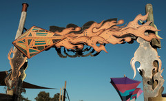 East Gate at Rainbow Serpent Fetival