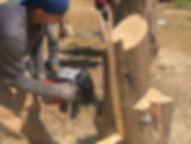 YF120vRX Chiansaw Cut Test 27 May 2019 C