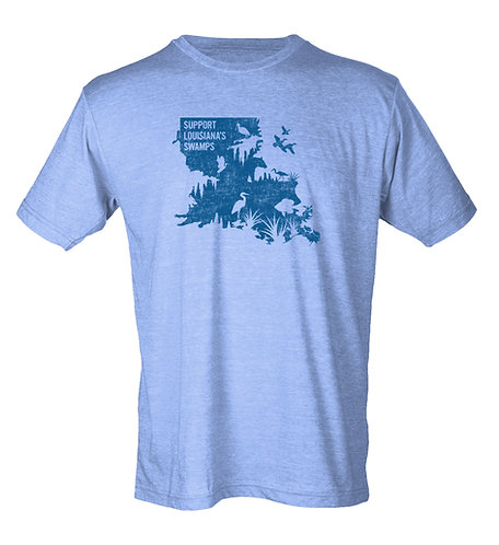 Support Louisiana's Swamps - Standard Tee