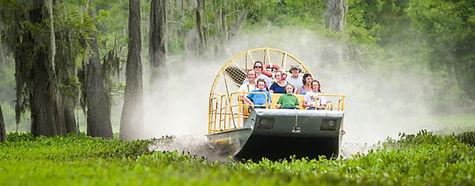 Louisina airboat swamp tour in the Atchfalaya Basin