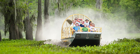 Louisina airboat swamp tour in the Atchfalaya Basin