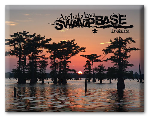 Swamp Sunset Magnet