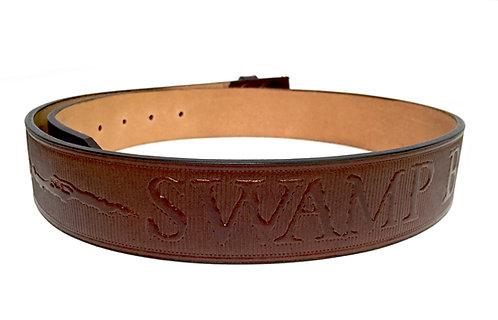 Swamp Base Leather Belt