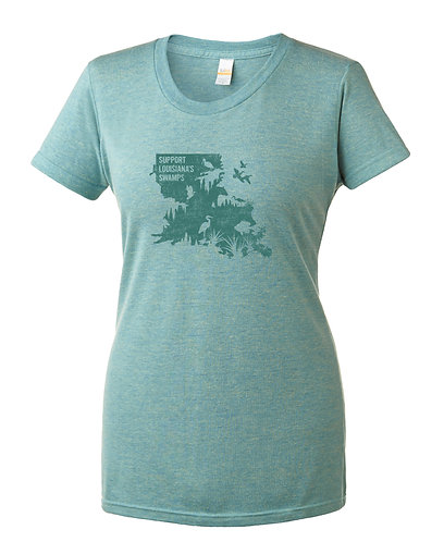 Support Louisiana's Swamps - Slim Fit