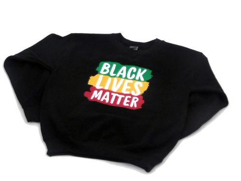 Black Lives Matter Sweatshirt-Kids