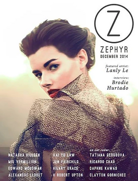 Cover portrait photographed by Lanly Le Photography
