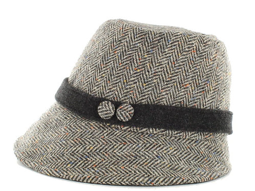 """Mary Frances"" Royal Tara Herringbone Hat"