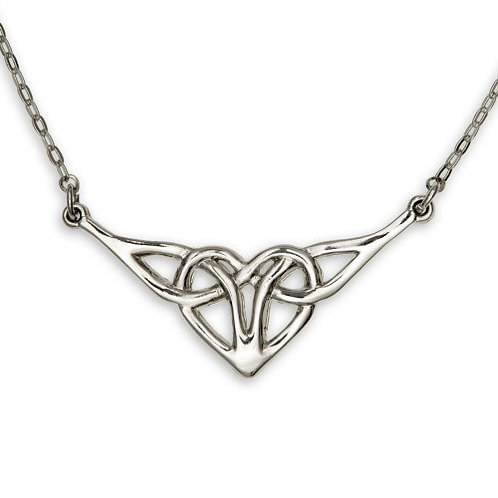 Celtic Heart Knotwork Pendant
