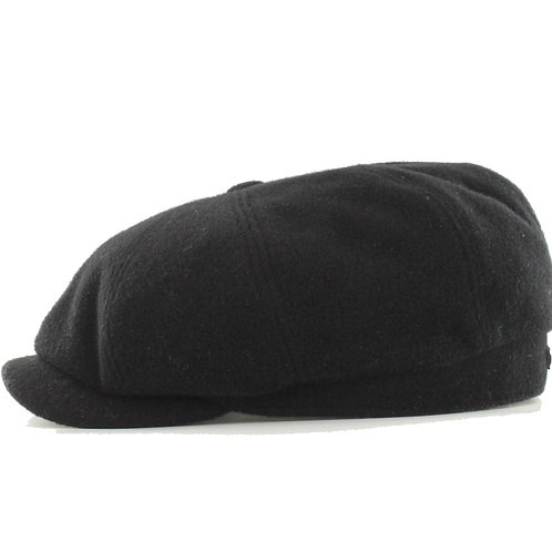 Black Driving Cap